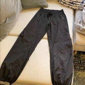 Lulu lemon black windbreaker pants